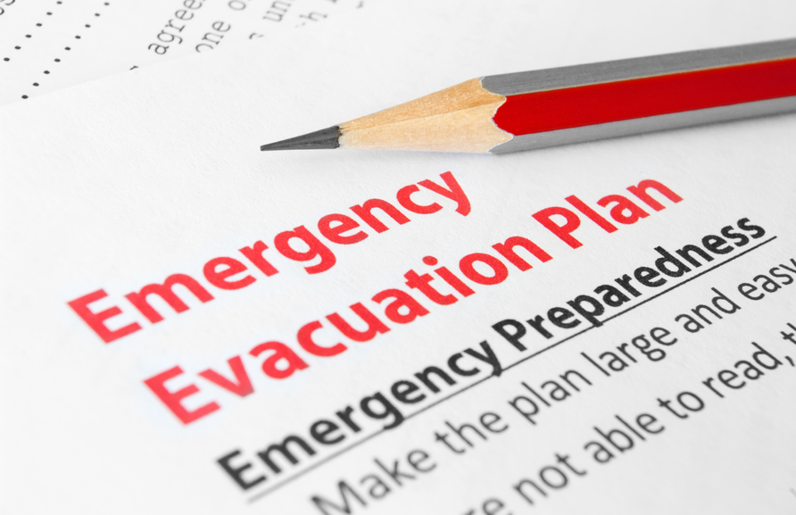 Établissement d'un plan d'urgence